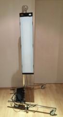 LED Ausbeullampe, Dellenlampe mit Stativ für die Dellendrücker als Ausbeulwerkzeug