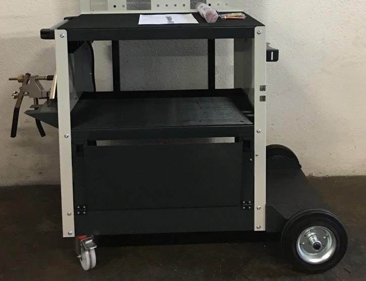 Ausbeulsystem, großes Set mit Schweißgerät für Karosseriearbeiten