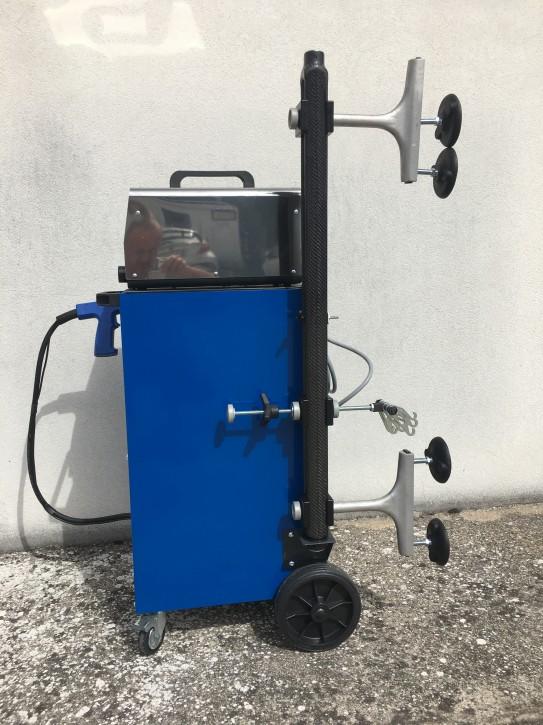 Ausbeulsystem, kleines Set mit Schweißgerät für Karosseriearbeiten