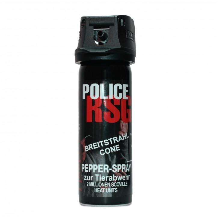 KKS Pfefferspray als Abwehrspray RSG-Police Breitstrahl