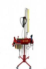 Ausbeul Set mit Mobile Turbo Ausbeulleuchte, Ausbeulwerkzeug