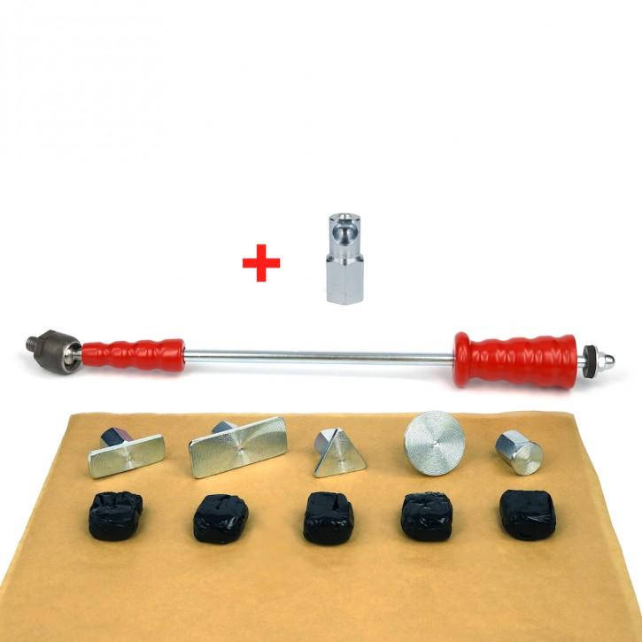 Ausbeulwerkzeug, Zughammer mit Colafria als Dellenwerkzeug