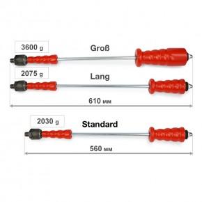 Ausbeulwerkzeug, Zughammer mit Kaltkleber als Dellenwerkzeug